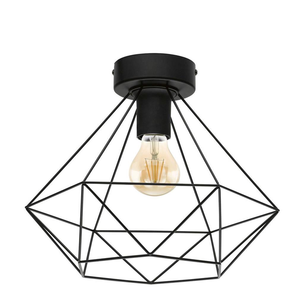 EGLO plafondlamp Tarbes, Zwart
