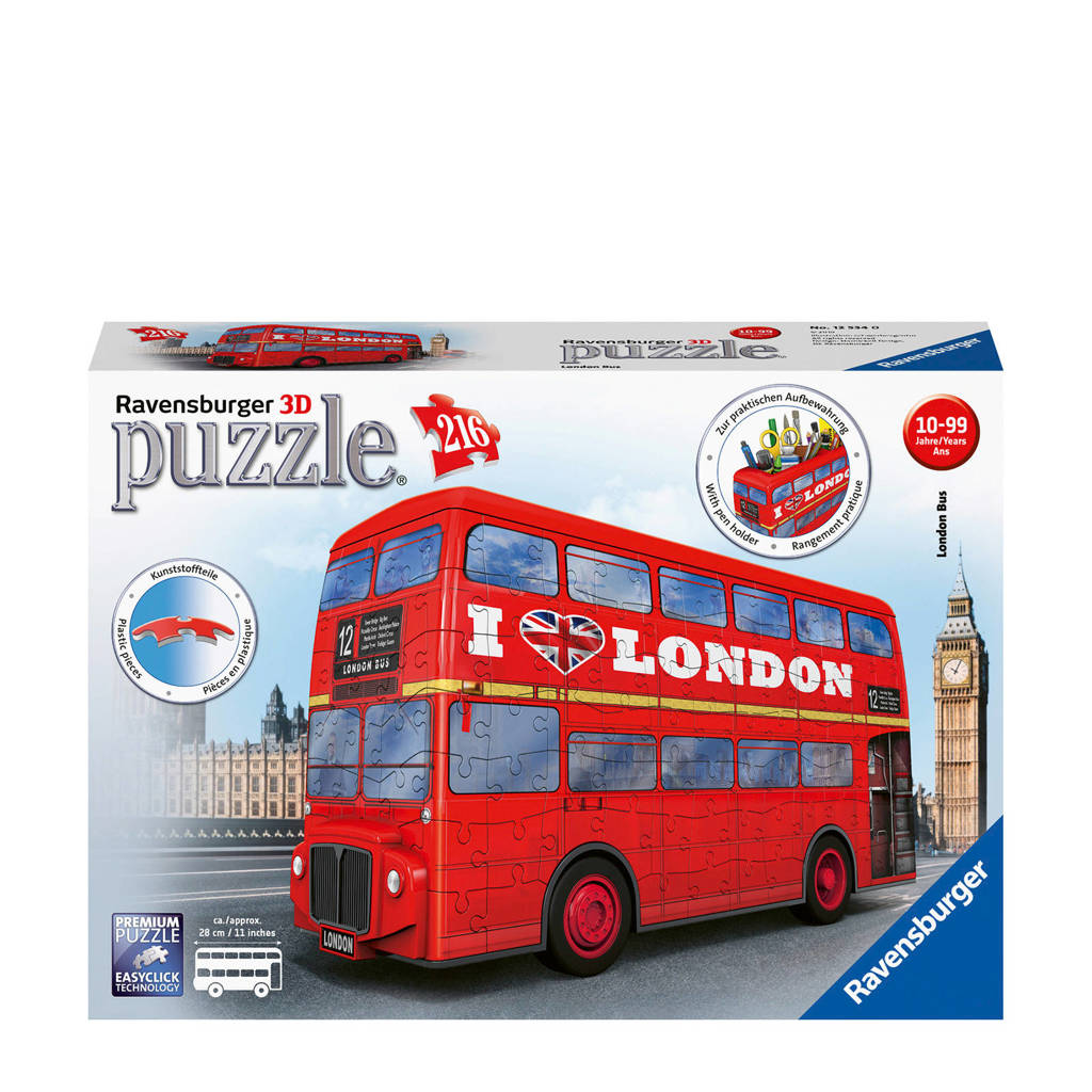 Ravensburger London bus  3D puzzel 216 stukjes