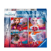 Disney Frozen 2 4-in-1 box  legpuzzel 72 stukjes