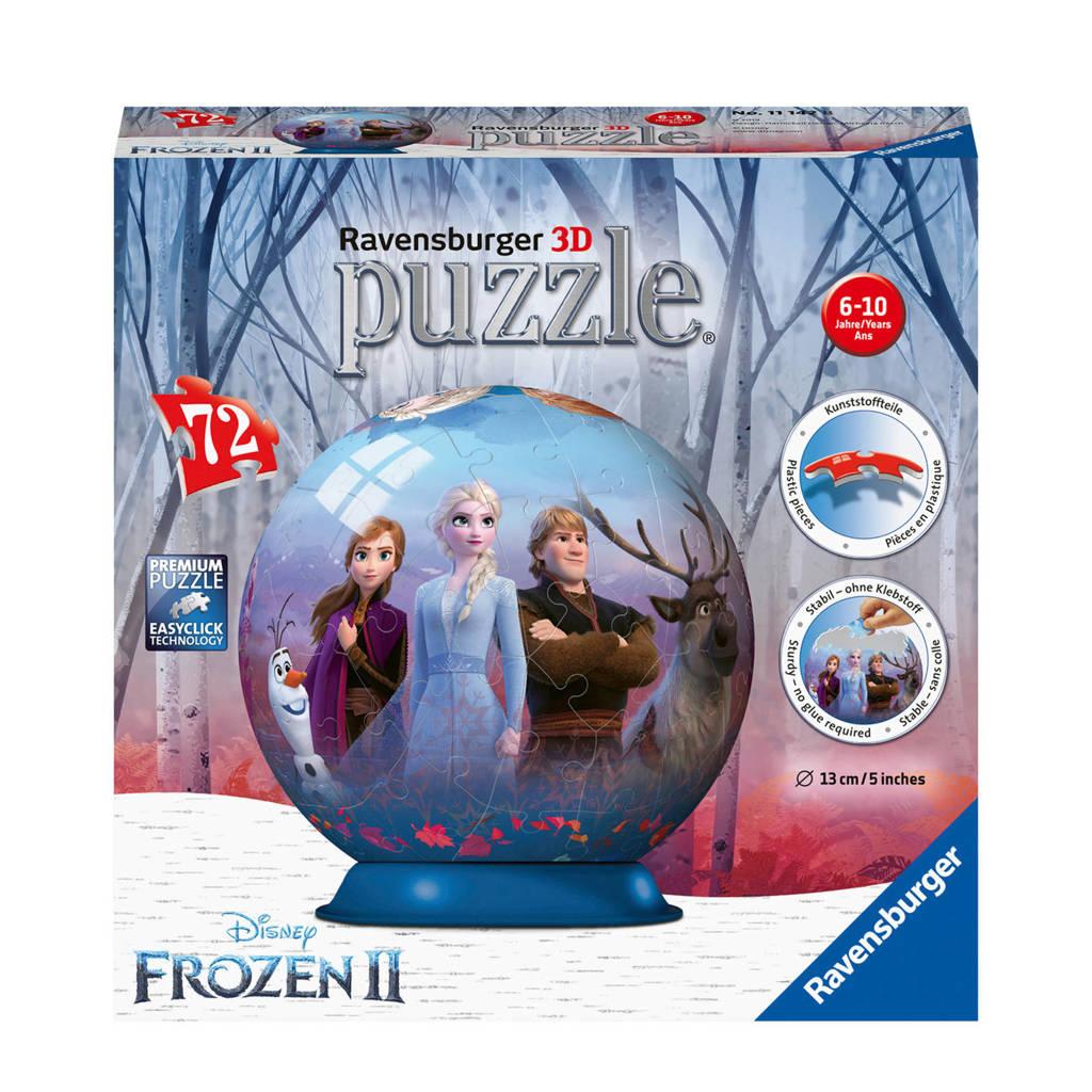 Disney Frozen 2 puzzlebol  3D puzzel 72 stukjes