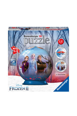puzzlebol  3D puzzel 72 stukjes