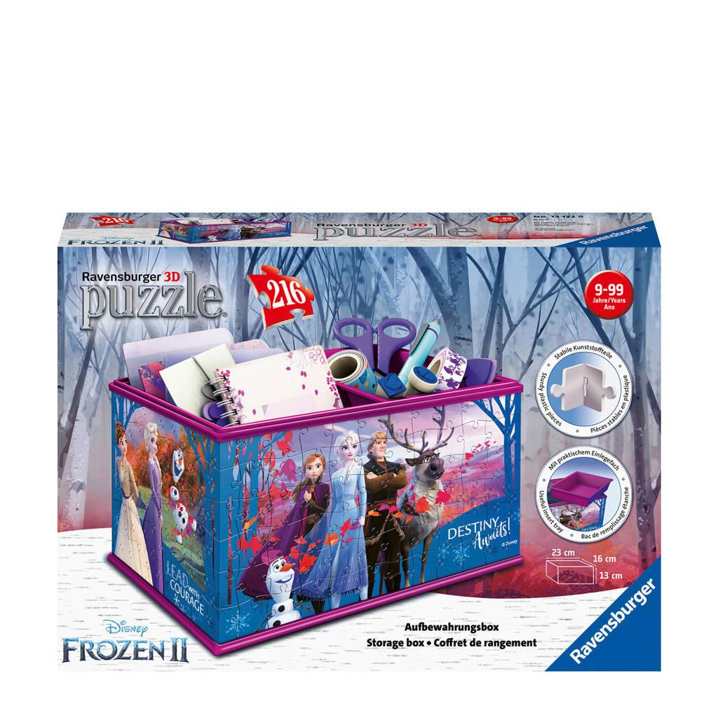 Disney Frozen 2 Opbergdoos  3D puzzel 216 stukjes