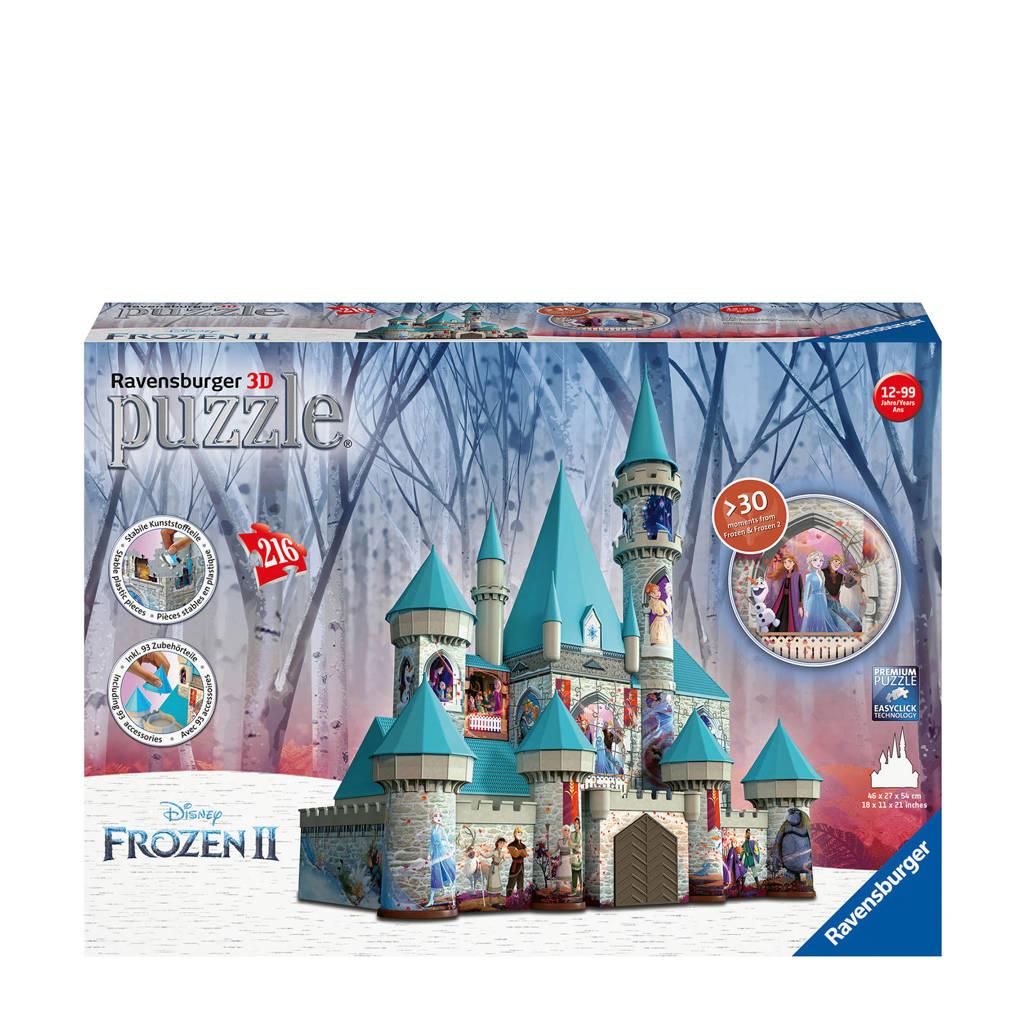 Disney Frozen 2 kasteel  3D puzzel 216 stukjes