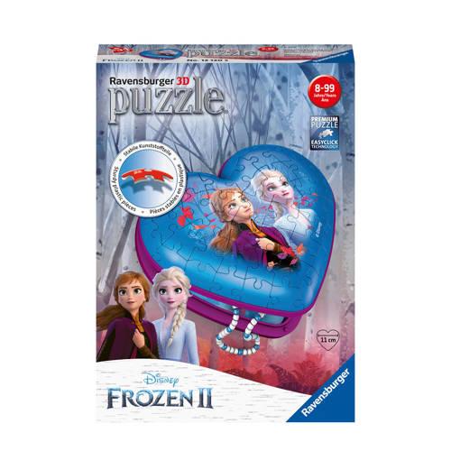 Disney Frozen 2 hartendoosje 3D puzzel 54 stukjes
