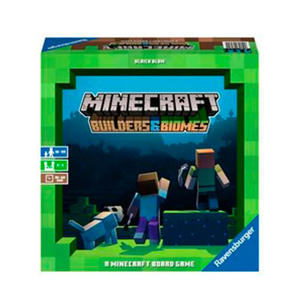 Minecraft Builders & Biomes bordspel bordspel