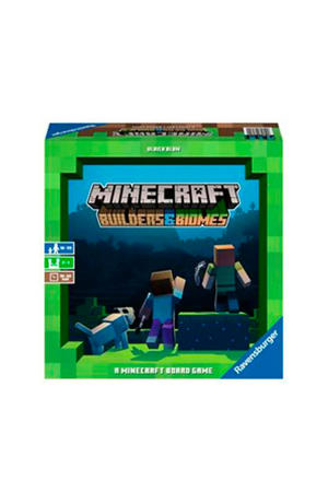 Minecraft Builders & Biomes bordspel bordspel