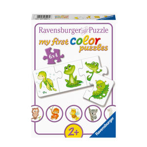 mijn liefste babydieren  legpuzzel 24 stukjes