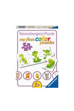My first mijn liefste babydieren  legpuzzel 24 stukjes