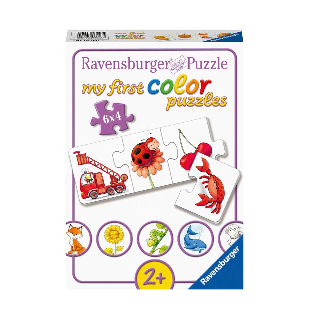 Ravensburger My first al mijn kleuren  legpuzzel 24 stukjes