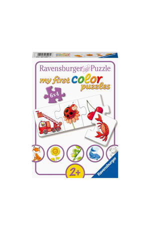 My first al mijn kleuren  legpuzzel 24 stukjes