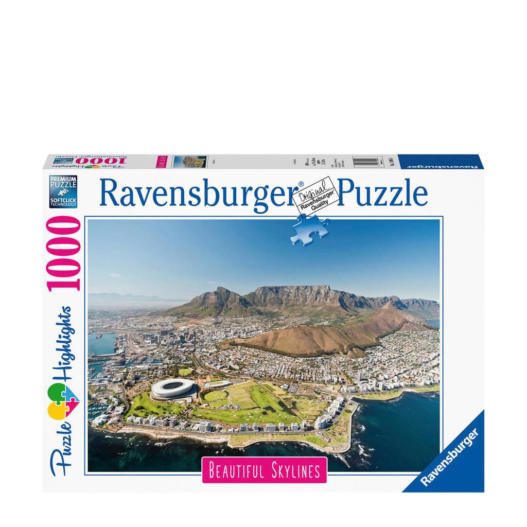 Ravensburger Beautiful Sky Lines Kaapstad  legpuzzel 1000 stukjes