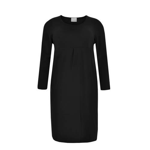 Yoek jersey jurk zwart, Deze damesjurk van Yoek is gemaakt van een polyestermix. De jurk met lange mouwen heeft verder een ronde hals.details van deze jurk:2 steekzakkenExtra gegevens:Merk: YoekKleur: ZwartModel: Jurk (Dames)Voorraad: 1Verzendkosten: 0.00Plaatje: Fig1Plaatje: Fig2Maat/Maten: S 38/40Levertijd: direct leverbaar
