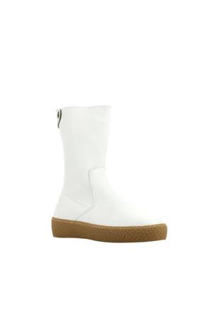 221201 leren laarzen wit