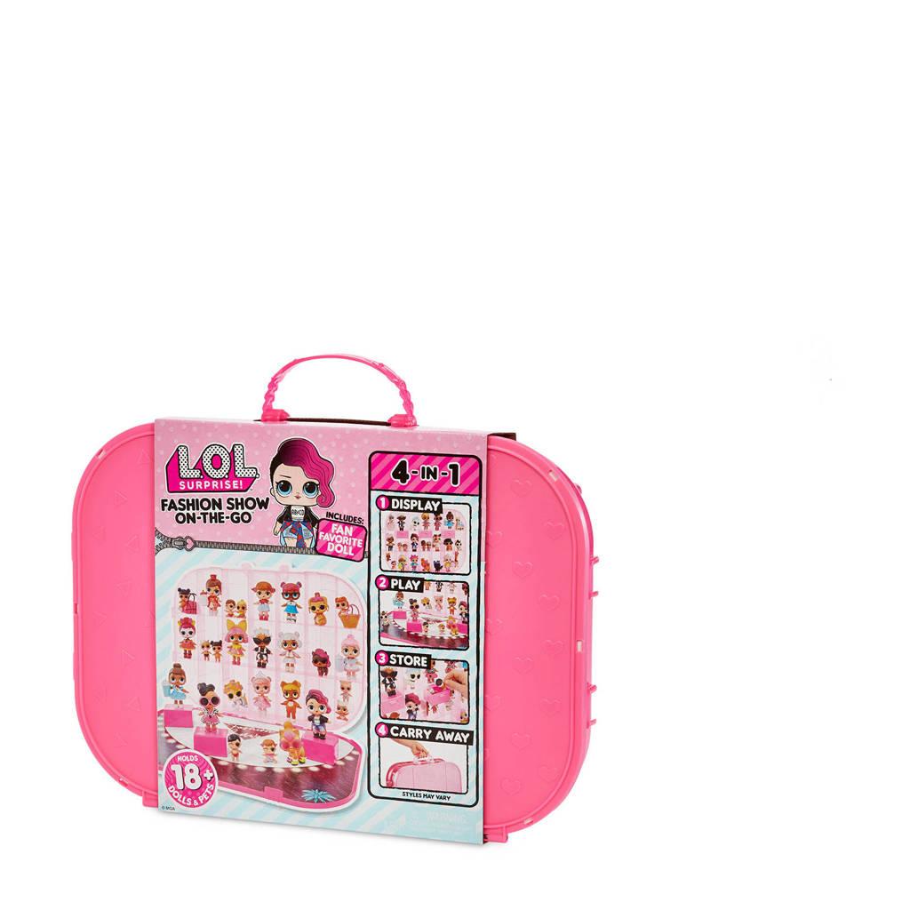 L.O.L. Surprise! carrying case light pink, Licht roze