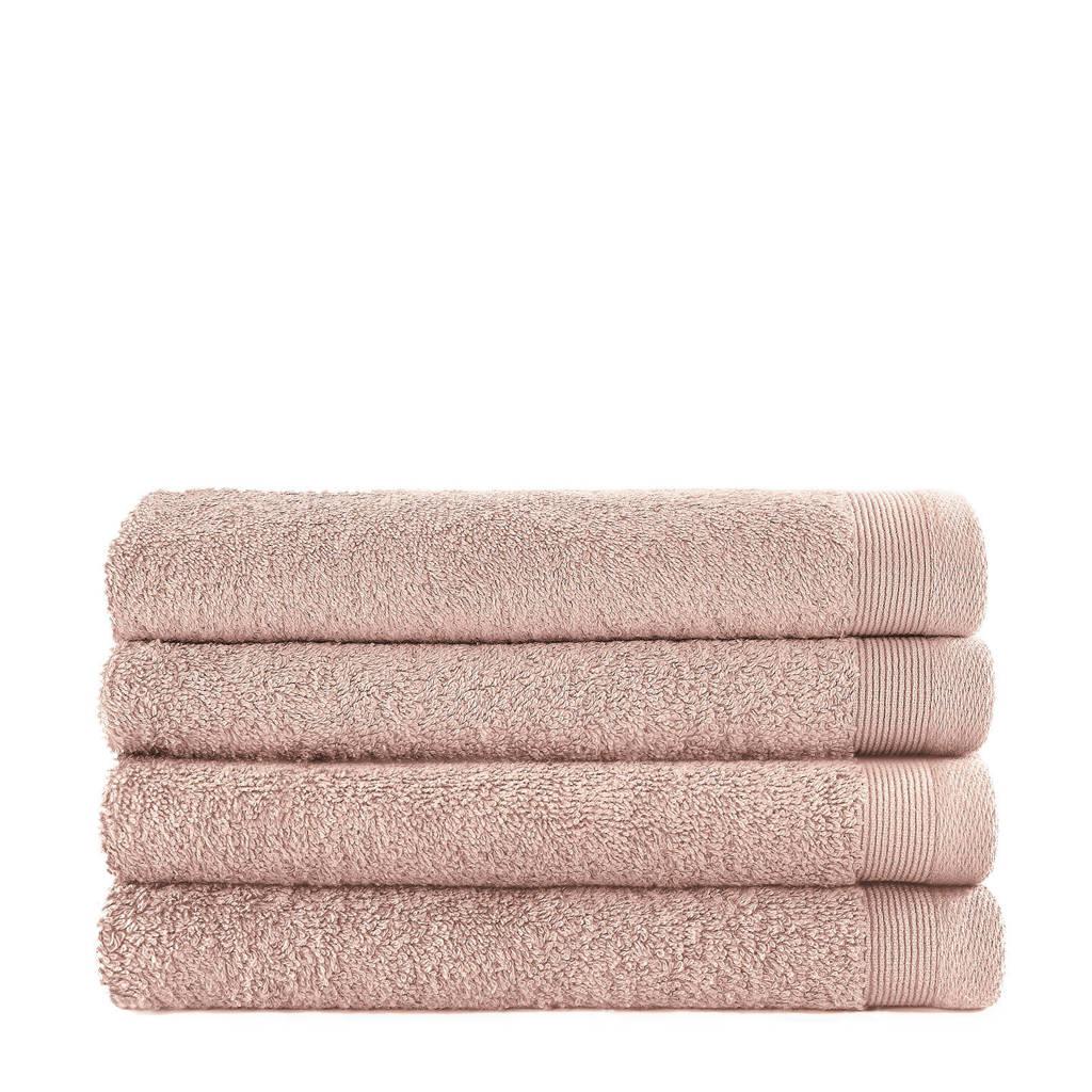 anytime gastendoek (set van 4) (30 x 50 cm) Roze