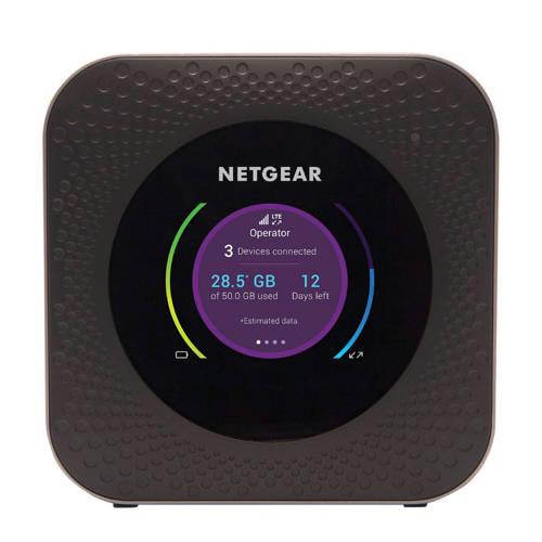 WiFi router NETGEAR Nighthawk® M1 Geïntegreerd modem: LTE 2.4 GHz, 5 GHz 1 Gbit-s