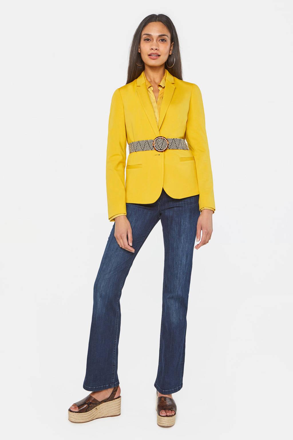 WE Fashion blazer geel, Geel