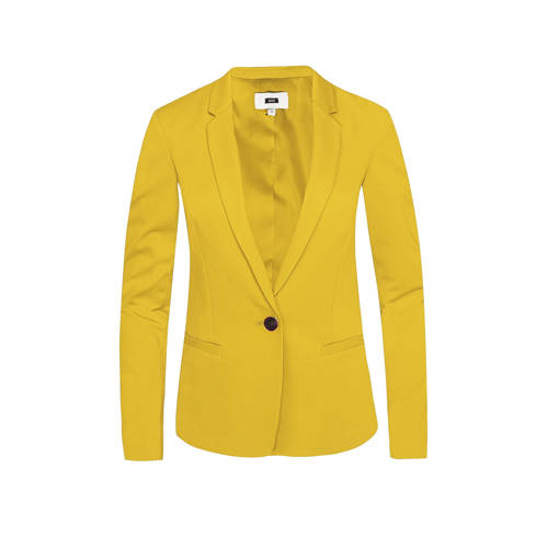 WE Fashion blazer geel