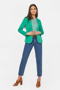 WE Fashion blazer groen, Groen
