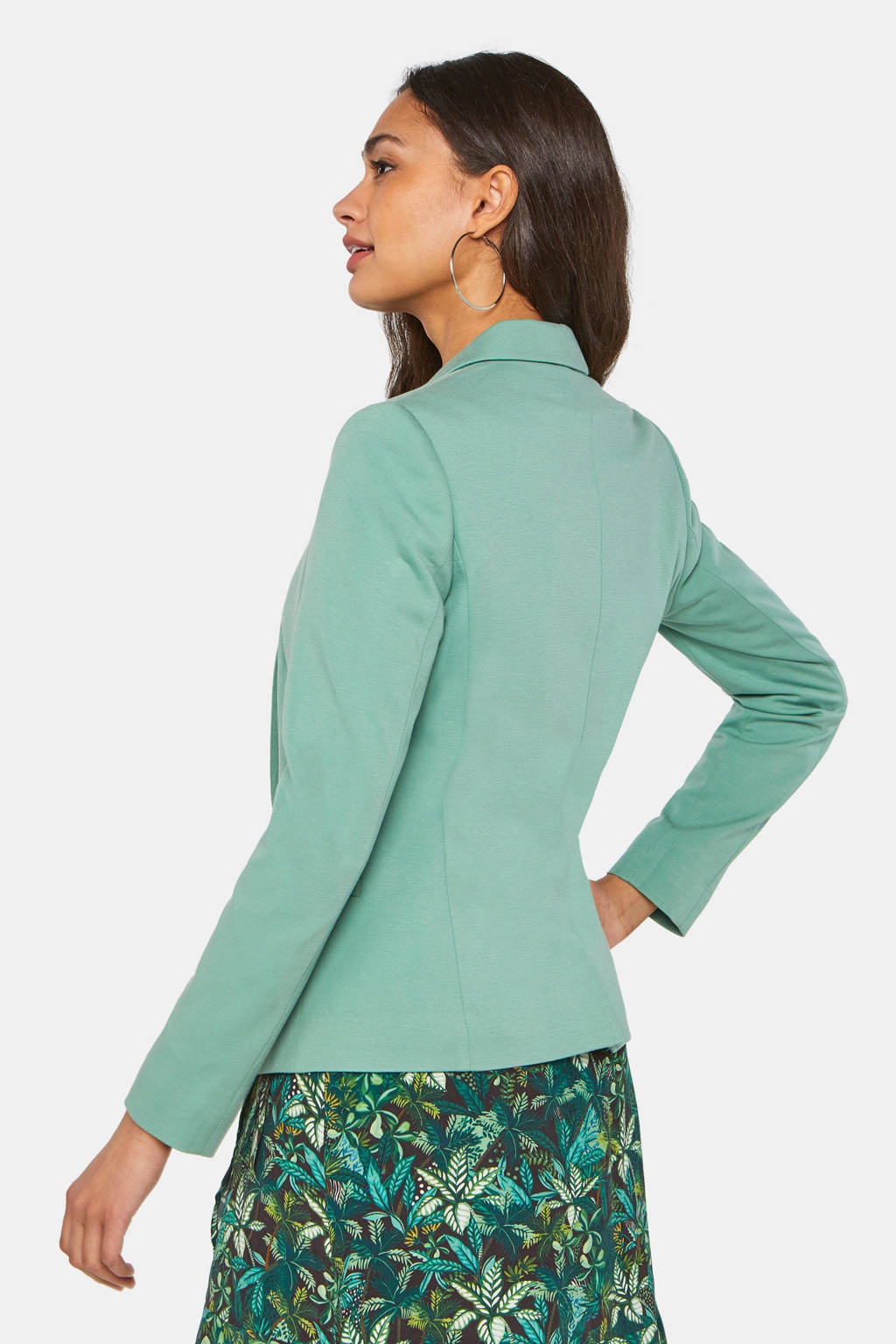 WE Fashion blazer mintgroen, Mintgroen