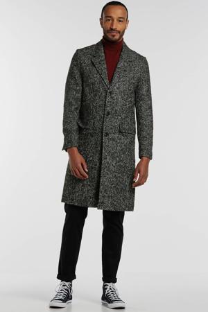 tussenjas met wol melee grijs
