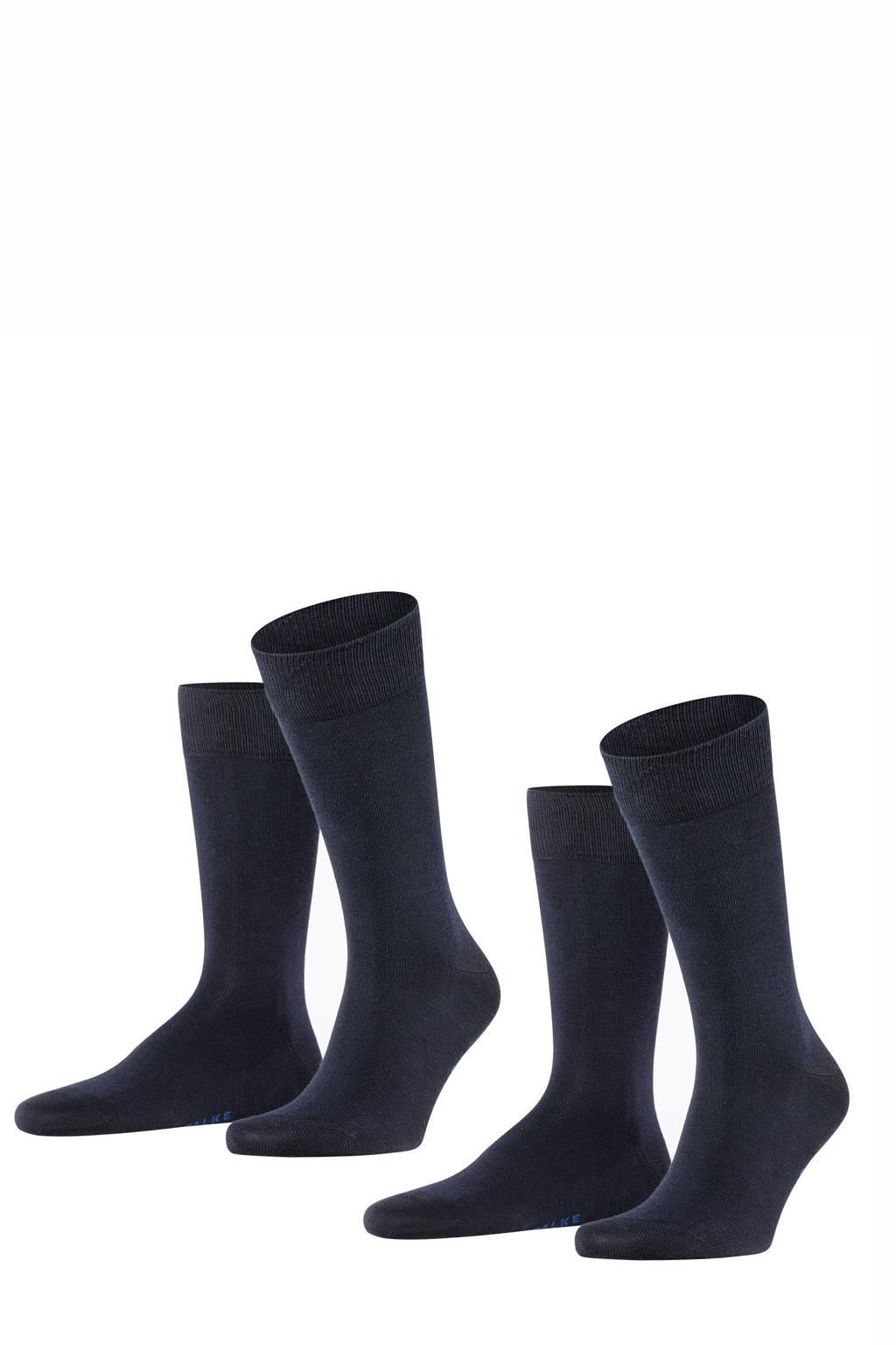 FALKE sokken zwart, Zwart