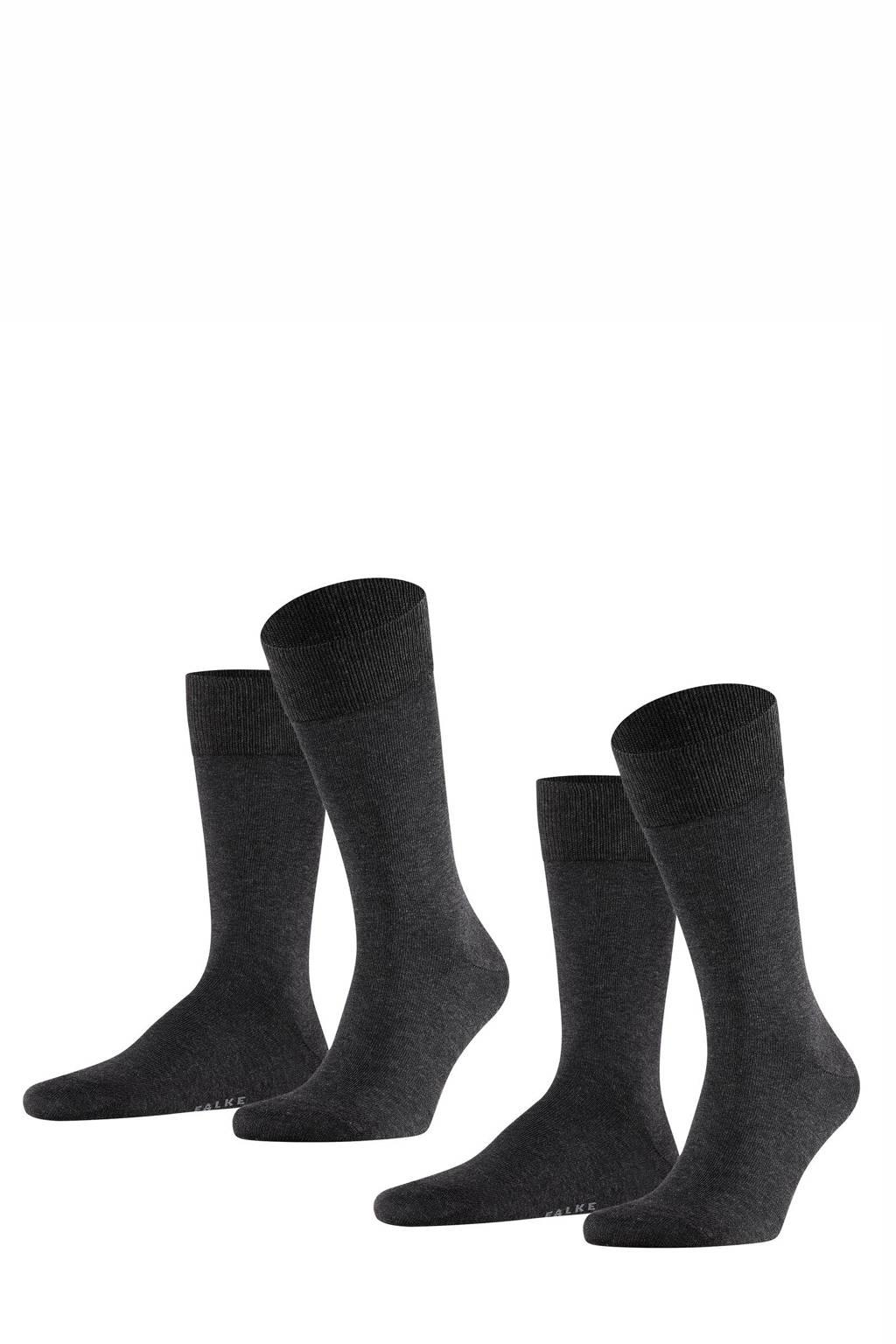 FALKE sokken antraciet, Antraciet