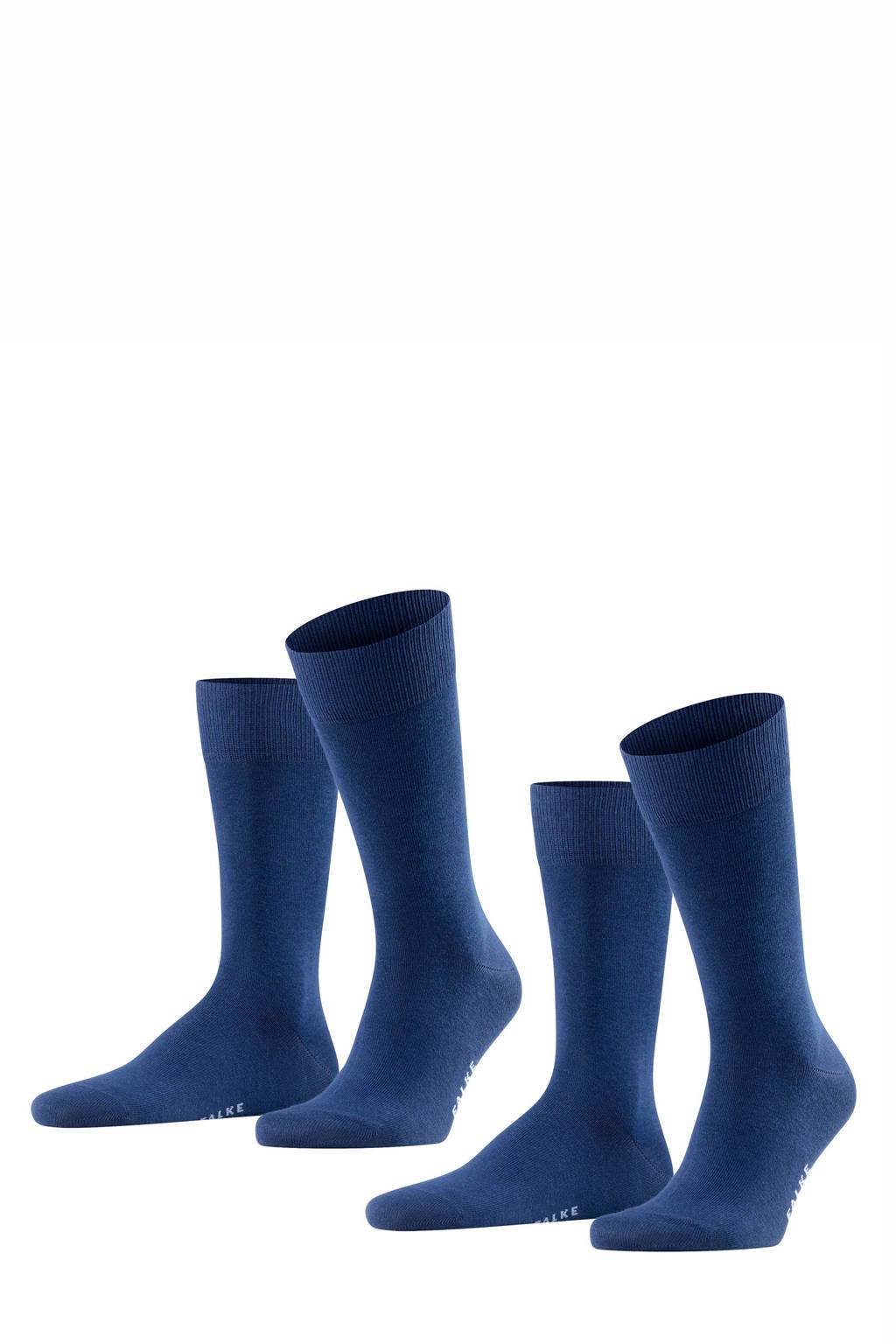 FALKE sokken blauw, Blauw