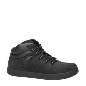 Davis Square nubuck sneakers zwart