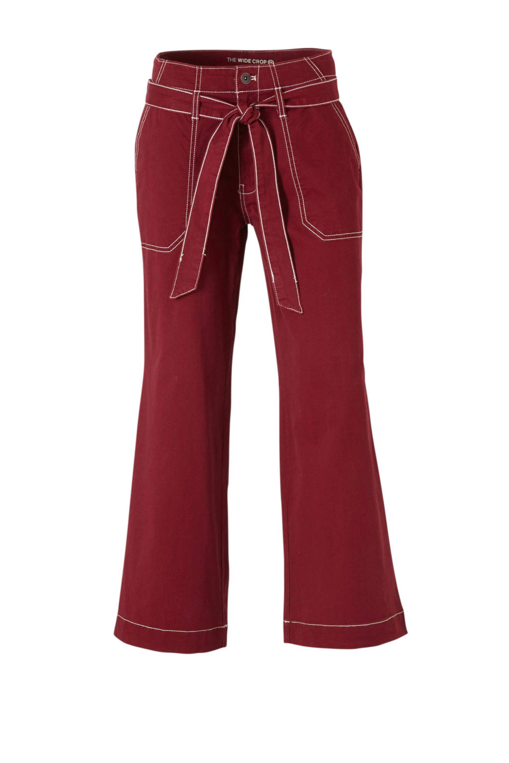 C&A Yessica high waist culotte donkerrood, Donkerrood