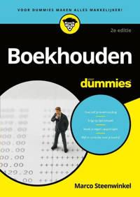 Boekhouden voor Dummies - Marco Steenwinkel