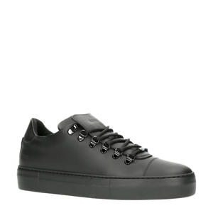 Jagger Gomma   leren sneakers zwart