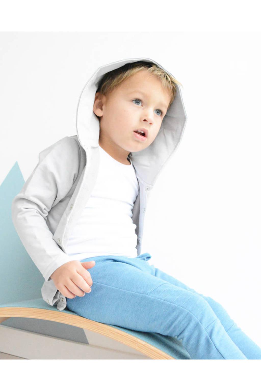 Kidstyling vest lichtgrijs, Grijs