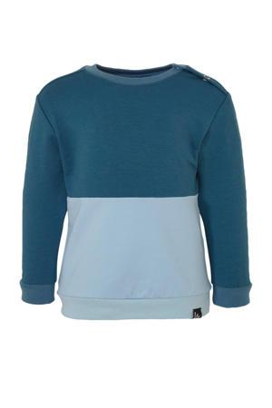sweater blauw/lichtblauw