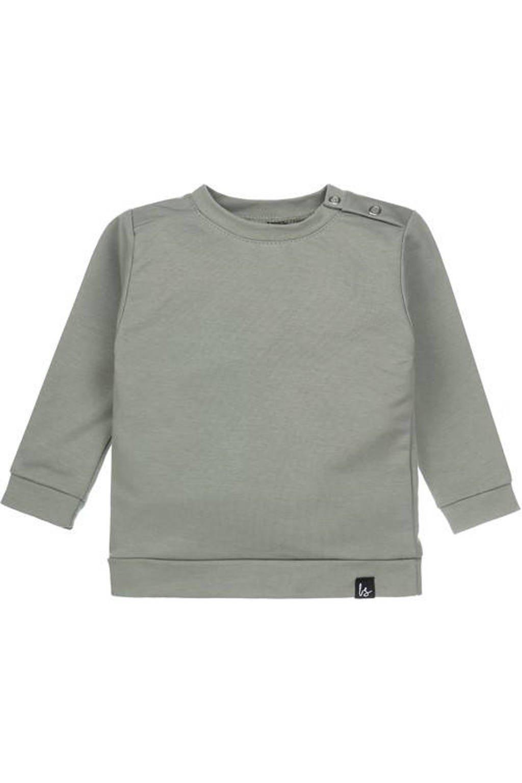 Babystyling sweater oudgroen, Oudgroen