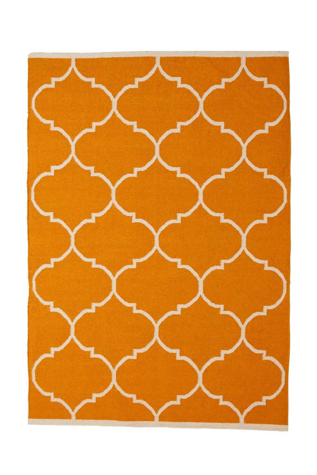 whkmp's own Vloerkleed  (wol)  (230x160 cm), Geel