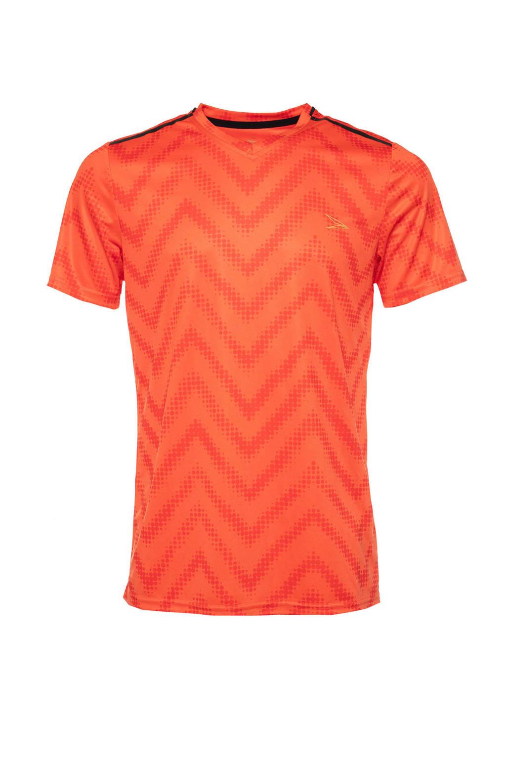 Scapino   voetbal T-shirt oranje, Oranje