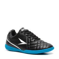 Scapino Dutchy   jr voetbalschoenen IC zwart/blauw, Zwart/blauw