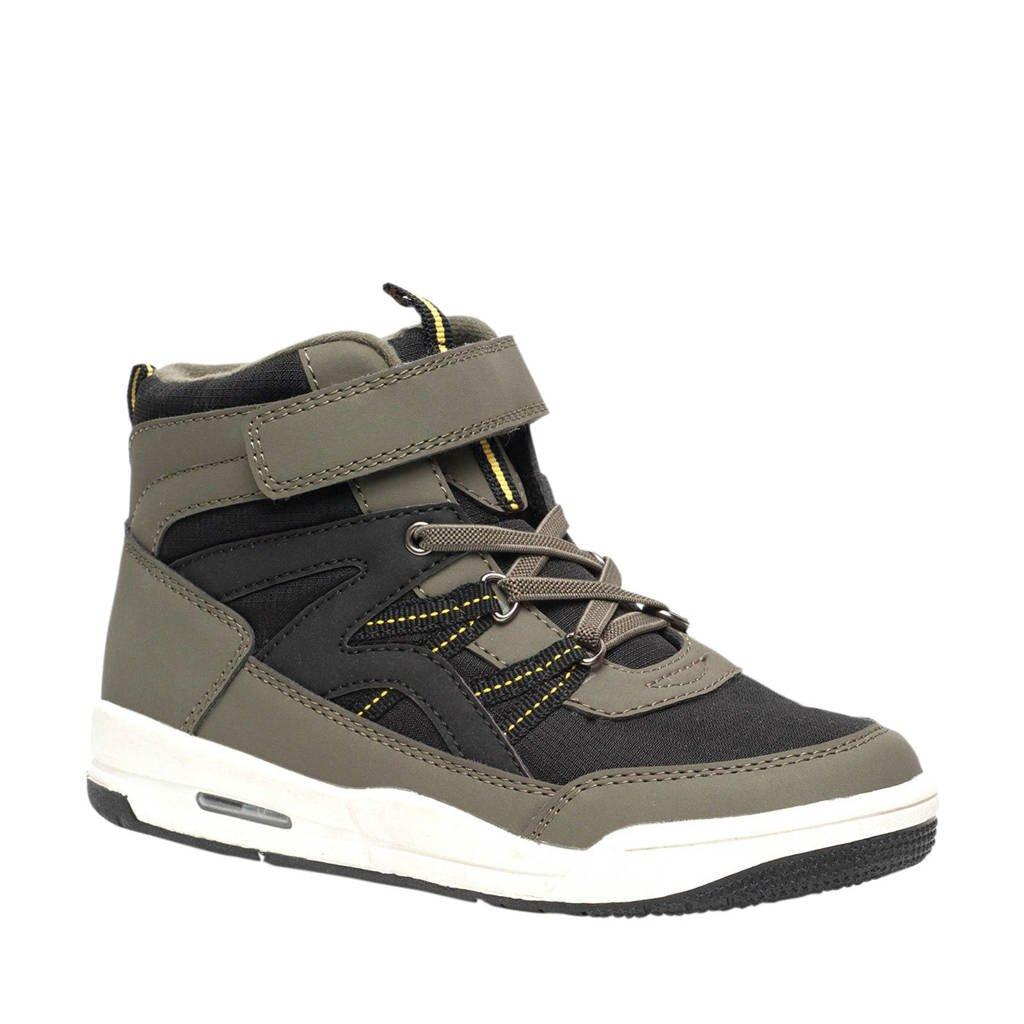 Scapino Blue Box   hoge sneakers kaki, Kaki