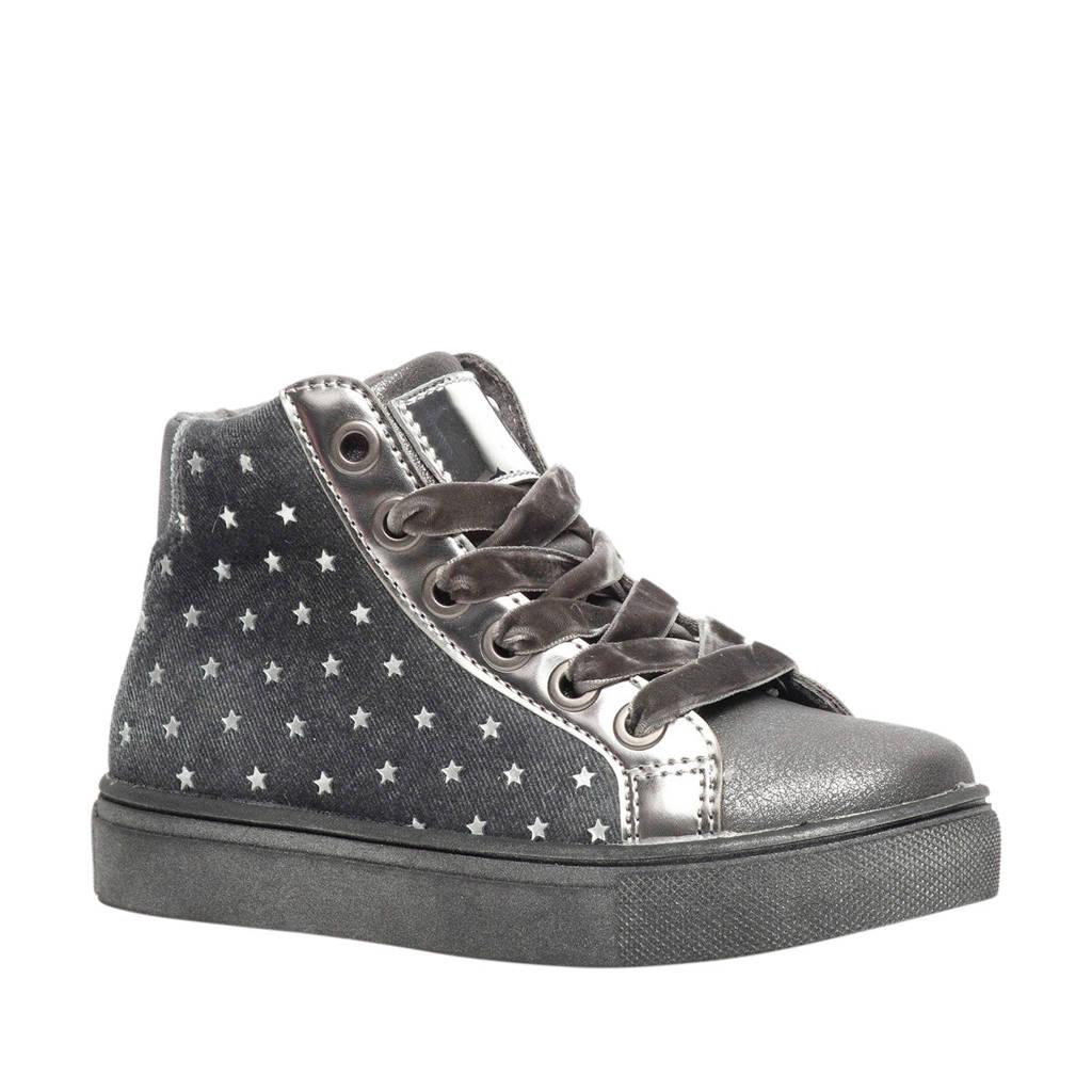 Scapino Blue Box   sneakers zilver, Zilver/grijs