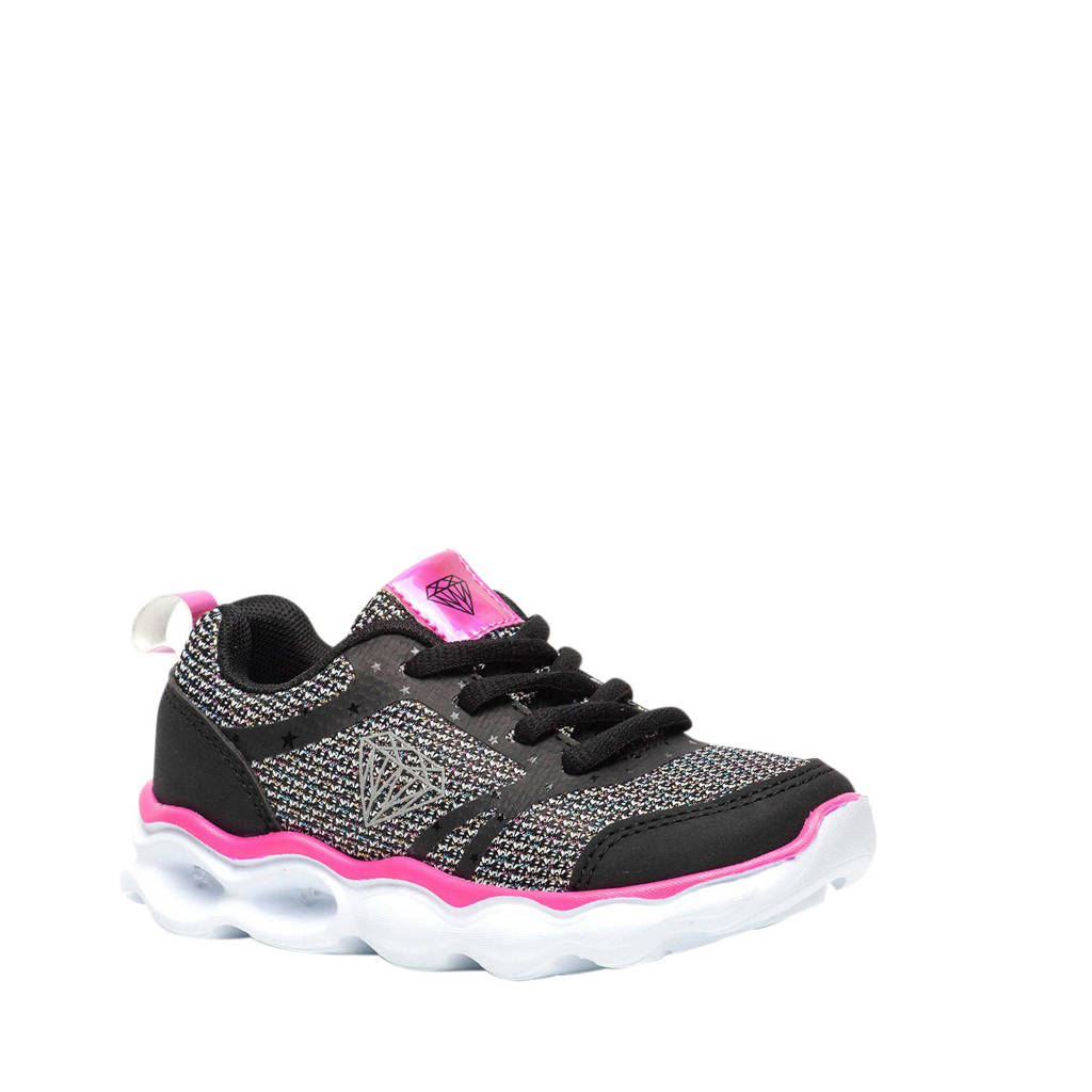 Scapino Blue Box   sneakers zwart/roze, Zwart/roze