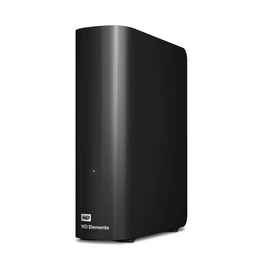 WD Elements Desktop externe harde schijf 2TB, Zwart