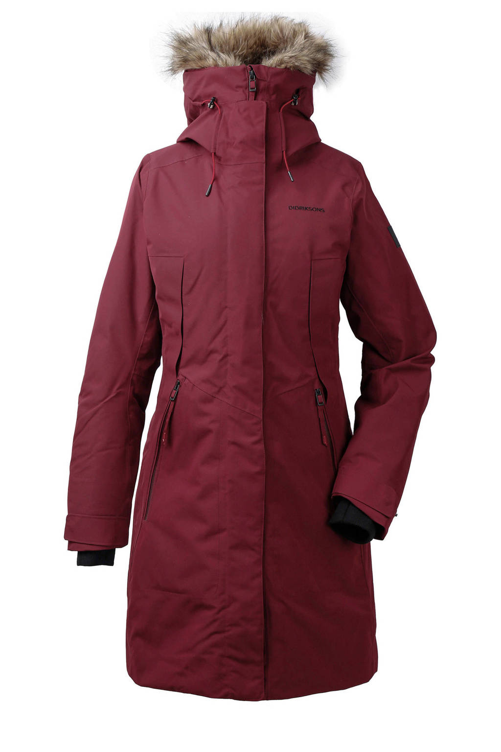 Didriksons parka Mea donkerrood, Anemon-Red
