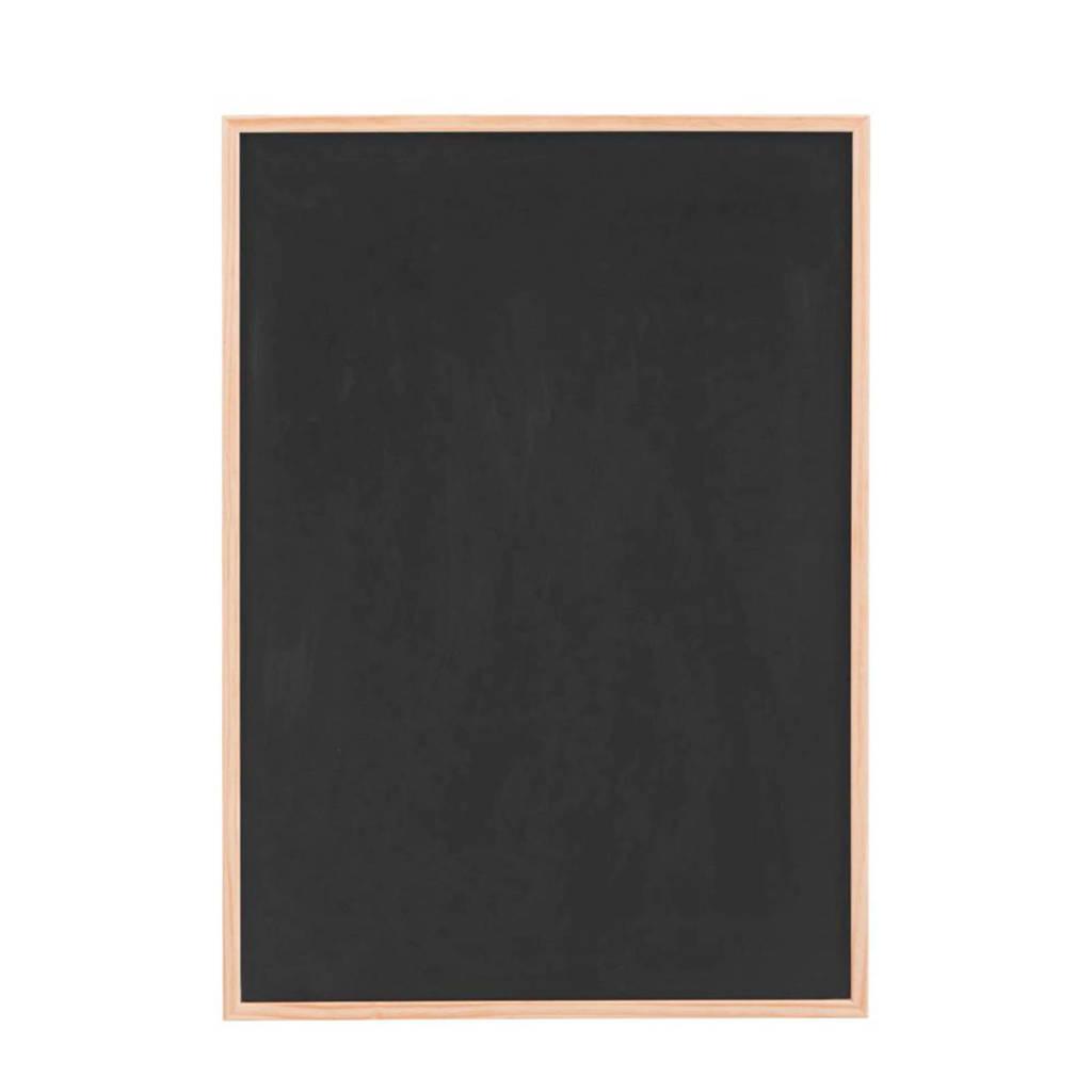 Monograph krijtbord, Zwart