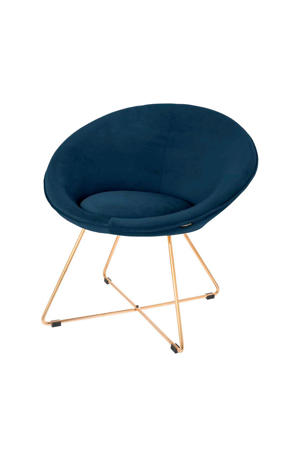 fauteuil Luca fluweel