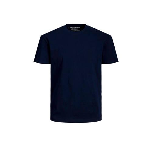 JACK & JONES ESSENTIALS T-shirt donkerblauw