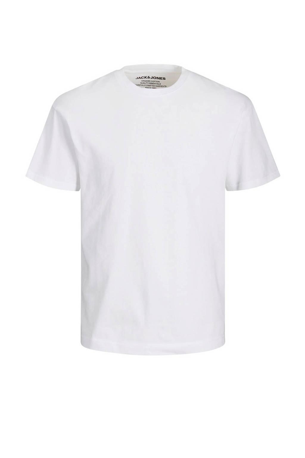 JACK & JONES ESSENTIALS T-shirt katoen, Katoen