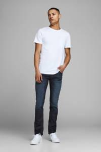 JACK & JONES JEANS INTELLIGENCE slim fit jeans Glenn blue denim, Donkerblauw