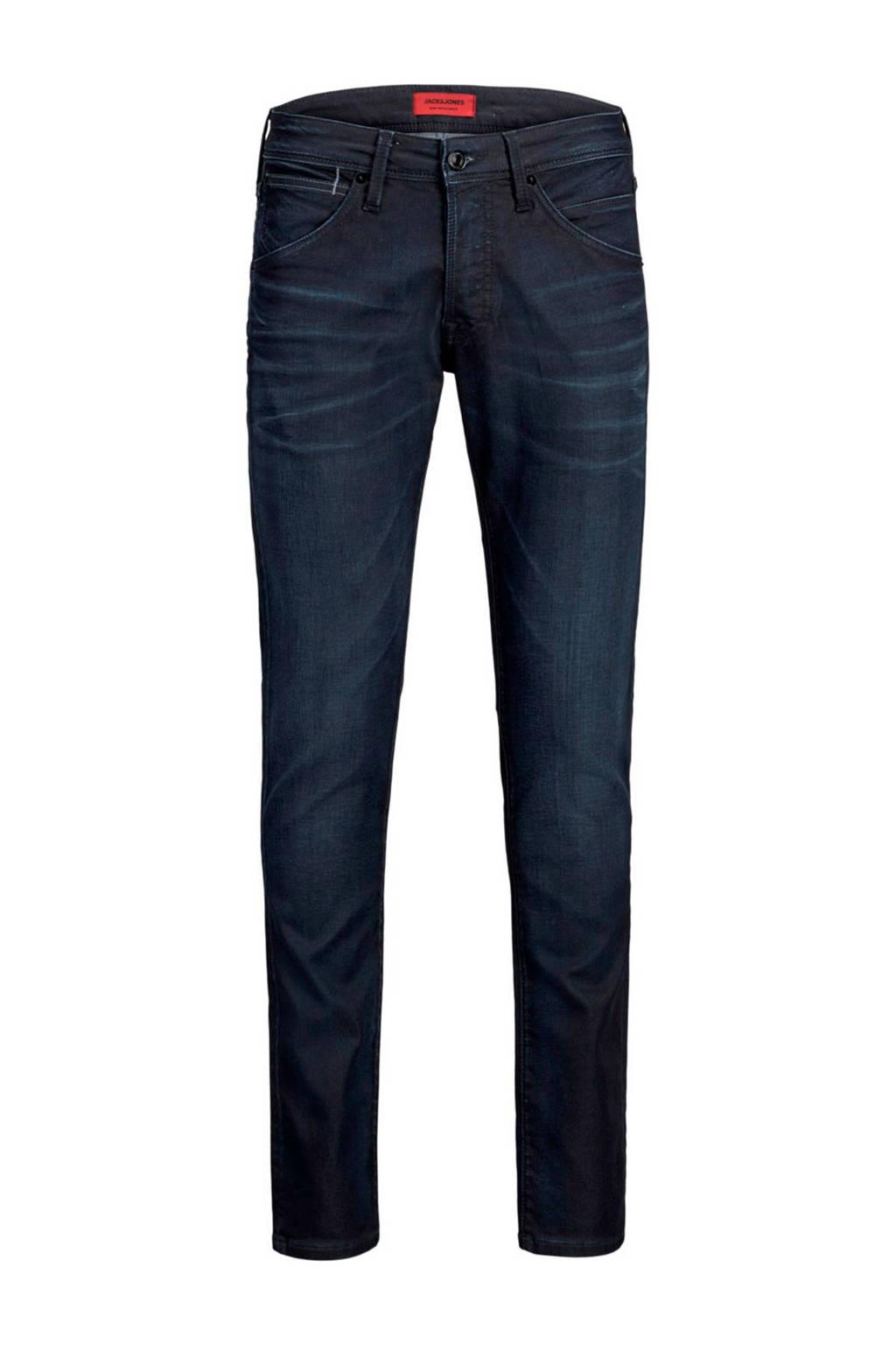 JACK & JONES JEANS INTELLIGENCE regular fit jeans donkerblauw, Donkerblauw