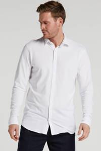 JACK & JONES PREMIUM slim fit overhemd wit, Wit